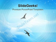 Flying High Nature PowerPoint Backgrounds And Templates 0111 #PowerPoint #Templates #Themes #Background