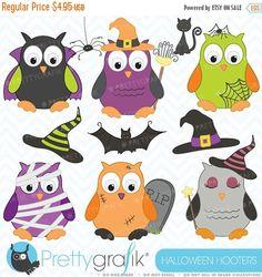 He encontrado este interesante anuncio de Etsy en https://www.etsy.com/es/listing/109520200/80-off-sale-halloween-owls-clipart