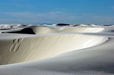 Sands of White Sands National Monument