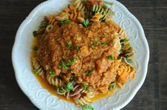 Vegan Cauliflower Bolognese: really tasty.  Makes a ton, but if you're doing meal prep for a week this is a pretty great way to incorporate a lot of veggies.