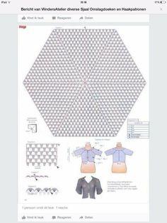 2 hexagon cardigan