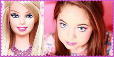 Barbie Makeup Tutorial ♥