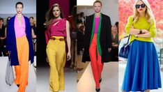 primarios Outfits, Tips, 1, Blouses, Fashion, Vestidos, Inverted Triangle, Outfit Combinations, Color Coordination