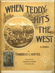 Sheet Music - When Teddy hits the west