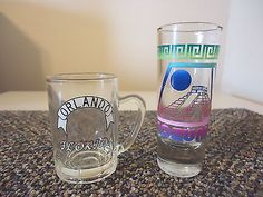 """Vintage Lot Of 2 Shot Glasses """" AWESOME COLLECTABLE USEABLE LOT """" #vintage #collectibles #kitchen #home"""