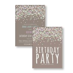 Custom Personalized Adult Birthday Party von Invites4All auf Etsy, £9.99