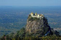 Taung Kalat Monastery, Burma http://pinterest.com/pin/129548926750981575/