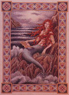 teresa wentzler cross stitch designs   Teresa Wentzler - Mermaid