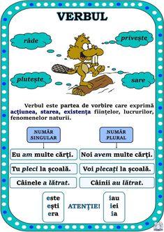 Visual Perceptual Activities, Romanian Language, Teaching Grammar, Teacher Supplies, Summer Activities For Kids, Alphabet Activities, School Lessons, Primary School, Kids And Parenting