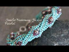 Twisted Herringbone Bracelet ~ Seed Bead Tutorials
