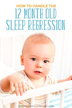 Going through the 12 month old sleep regression in toddlers is a challenge. Your toddler might be teething, struggling with separation anxiety, or going through a growth spurt. Learn the best tips to get through this challenging phase as quickly as possible, and get your child sleeping through the night once again! A must-read for every exhausted mom. Sleeping Through The Night, Separation Anxiety, Bedtime Routine, Pep Talks, Sleep Deprivation, Kids Sleep, Teething, Inevitable, Thing 1 Thing 2