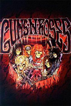 cool rock posters | Guns N'Roses Hard Rock Band #8