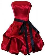 red coctail dress :)