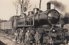 Steam Train on the Somme 1918