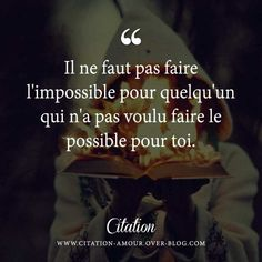 ... Citation Amour Impossible sur Pinterest | Amour Impossible, Citation