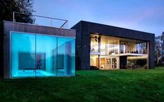 Architechture : Piscine transparente