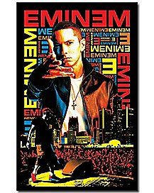 Eminem Blacklight Poster