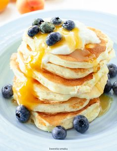Pancakes, Food Porn, Food And Drink, Eat, Cooking, Breakfast, Recipes, Lunches, Baking Center
