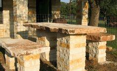 Stone Bench San Antonio