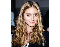 @byrdiebeauty - Olivia Palermo    Though a master of polished beauty, Palermo gave her signature sleek, pulled-back hair a break and wore her strands loose and tousled in the front row at Elie Saab.