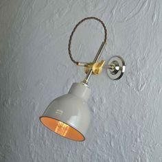 Mek Elek Wall Light - Mid Grey - Artifact Lighting