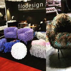 Feathers anyone!  Salon del Mobile 2016