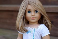 American Girl Doll Custom Marie-Grace with MyAG 53 wig + outfit OOAK
