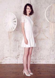 O vestido de noiva certo para vossa cerimónia civil. Modelo Santa Maria, Sessun.