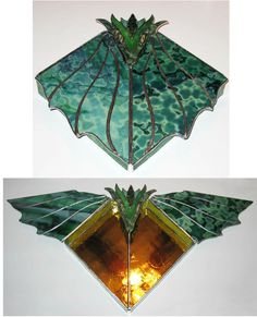Stained glass boxes are a great place to store little things. Jewelry, office supplies, spare change, potpourri ... imagination is your only limit! I also make lighted glass gift boxes which look...