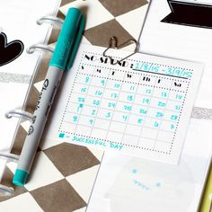 Quirk & Bramble: Free No-Spend Printable - can fill in whatever month or dates you want