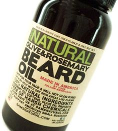 Beard oil (I want the whole shop, not just for boys)