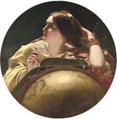 """Astronomy"", James Sant [British Painter, 1820-1916] by sofi01, via Flickr"