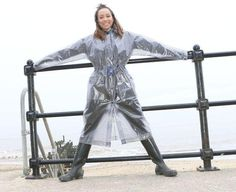 Click to close image, click and drag to move. Use arrow keys for next and previous. Plastic Mac, Plastic Raincoat, Rain Wear, Latex, Macs, Arrow Keys, Close Image, How To Wear, Vintage