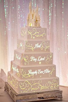 Fairy Tail Wedding Cakes | ... characters, can come to life and adorn a delectable five-tier cake