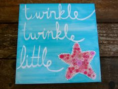 Hey, I found this really awesome Etsy listing at https://www.etsy.com/listing/153776800/starfishchildrens-paintingtwinkle