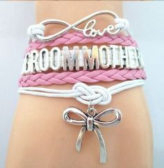 Infinity Love Bracelet for MOTHER OF THE GROOM