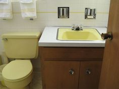 5 tips to decorate a yellow bathroom