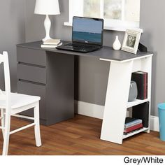 This feels a little heavy for the space.   Dimensions: 29.75 inches high x 49.5 inches wide x 20 inches deep  Simple Living Como Modern Writing Desk - Overstock™ Shopping - Great Deals on Simple Living Desks