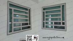 Window Grill Design Modern, Balcony Grill Design, Grill Door Design, Window Design, Modern Design, Window Security Bars, Window Protection, Burglar Bars