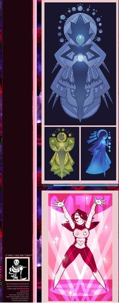 We found Pink Diamond!!! Undertale x Steven Universe
