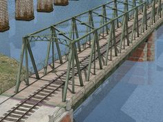 Ältere #Stahlbrücke. Ab #EEP8