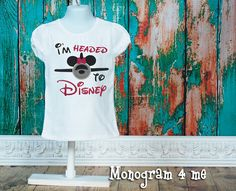 Hey, I found this really awesome Etsy listing at https://www.etsy.com/listing/523333315/minnie-mouse-airplane-im-headed-to