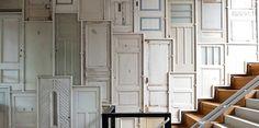 recycling Door wall by Piet Hein Eek