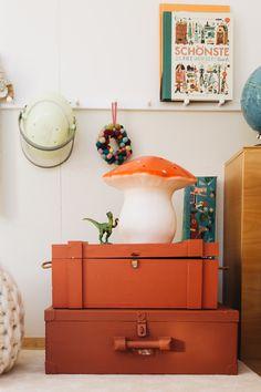 Erster Einblick in unser neues Zuhause: Oskars Kinderzimmer + DIY Heißluftballonlampe
