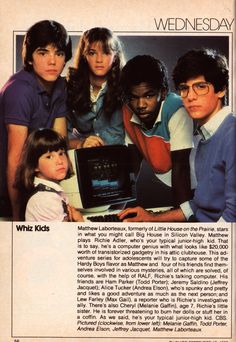 Whiz Kids. Loved this show!