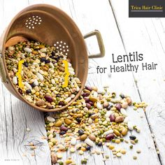 Healthy food healthy hair...!