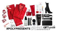 #PolyPresents: Last-Minute Gifts by igiulia on Polyvore featuring Various Projects, Bobbi Brown Cosmetics, Carolina Herrera, Alpine, Lauren Conrad, contestentry and polyPresents