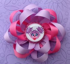 Hairbows  Girls Hair Accessories  Abby by oliviasgirlyboutique, $7.00