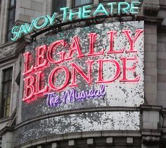 Legally Blonde @ Savoy theatre - May 2011