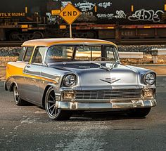 1956 Chevrolet Nomad......#ClassicCars..Re-pin Brought to you by agents of #carinsurance at #HouseofInsurance for #AutoInsuranceinEugene